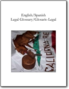 English>Spanish Legal Glossary of the Superior Court of California (EN>ES)