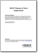ISACA� Glossary of Terms English-Dutch - 2012 (EN>NL)