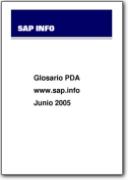 Glossaire PDA (Assistant num�rique personnel) - 2005 (EN>ES)