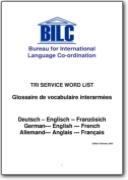 Glossaire de vocabulaire interarm�es - 2003 (DE-EN-FR)