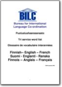 Glosario de terminolog�a militar - 2003 (EN-FI-FR)