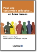 French>English Collective Employment Agreement Vocabulary - 2007 (FR>EN)