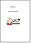 German>French Mozart Glossary - 2006 (DE>FR)