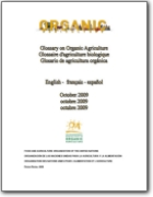 FAO - Glossary on Organic Agriculture - 2009 (EN-ES-FR)