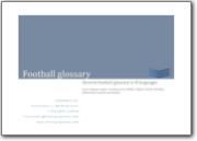 Glossaire du football - 2007 (EN>FR-IT-JA-PT-RU-SV-ZH)