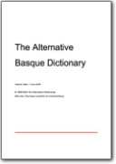 The Alternative Basque Dictionary - 2004 (EU>EN)
