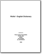 English Wolof Dictionary - 1995 (EN<->WO)