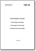 Vocabolario della terminologia - 2006 (EN-FI-FR-SV)