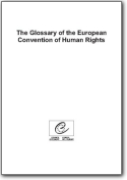 Glossary of the European Convention on Human Rights (EN>KA)