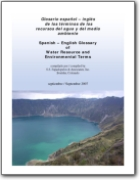 Spanish � English Glossary of Water Resource and Environmental Terms (EN<->ES)