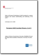 European Adult Learning Glossary, Level 1 - 2008 (MULTI)
