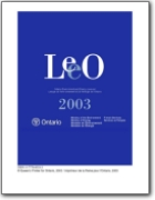 Ontario Environment and Energy Lexicon (LEEO) - 2003 (EN>FR)