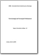 Lexique de la Formation Professionnelle - 2001 (PT>DE-EN-FR-ES)