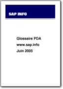 PDA (Personal Digital Assistant) Glossary - 2005 (EN>FR)