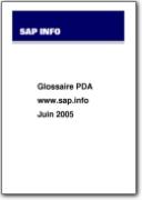 Glosario PDA (Asistente Digital Personal) - 2005 (EN>FR)