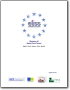 Glossary of Social Care - 1995 (EN>DE-ES-FR-IT)