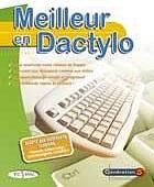 Apprendre la dactylo clavier AZERTY avec le CD-ROM 'Meilleur en Dactylo'