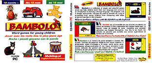Bambolo - logiciel éducatif multilingue pour de jeunes enfants
