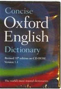 Concise Oxford English Dictionary on CD-ROM (12th edition)