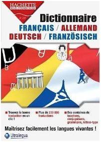 Dictionnaire français allemand Hachette Ultralingua