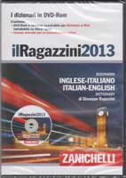 Ragazzini 2013 Italian English dictionary on CD-ROM