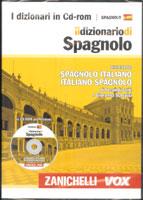 Diccionario español italiano Zanichelli Vox en CD-ROM