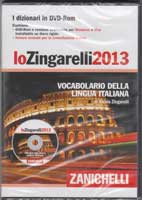 Italian dictionary 'Lo Zingarelli' on CD-ROM