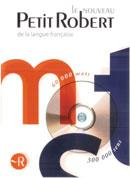 Le Petit Robert (French monolingual dictionary) on CD-ROM