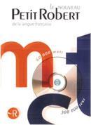 Le Petit Robert (dictionnaire français monolingue) sur CD-ROM