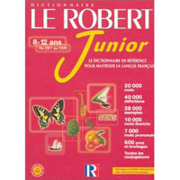 Le Robert Junior (dictionnaire français monolingue) sur CD-ROM