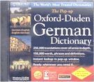 German English reference dictionary on CD-ROM